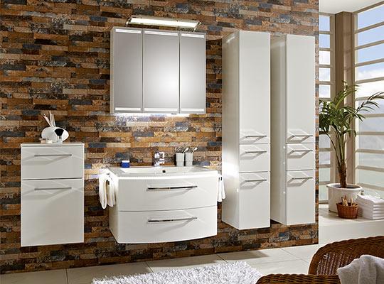 Möbel Rivo Wohnwelt | Schöne Badezimmer Zum Wohlfühlen Single Badezimmer
