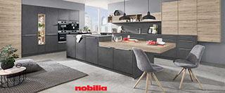 kompakte singlekuche design, möbel rivo wohnwelt   das große küchenstudio mit über 30 musterküchen, Design ideen